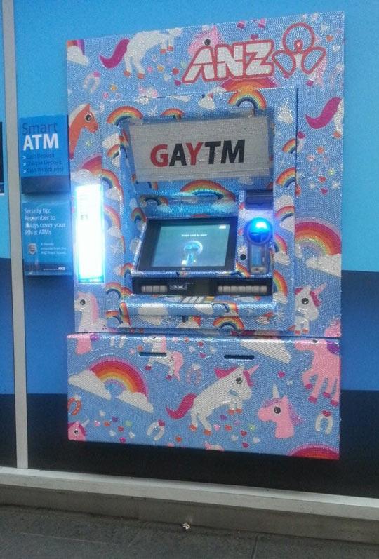 Fabulous ATM…