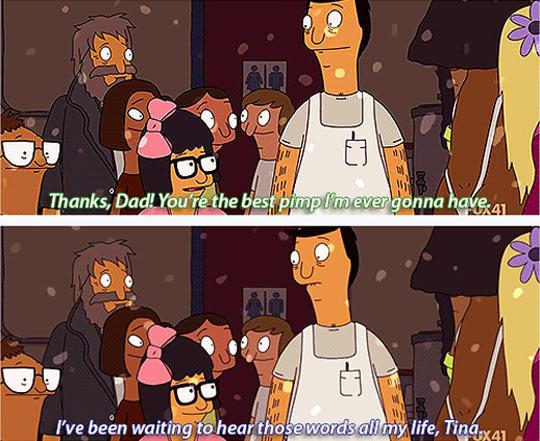 funny-Bobs-Burgers-scene-dad-Tina-parent