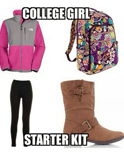 Everything a College Girl Needs