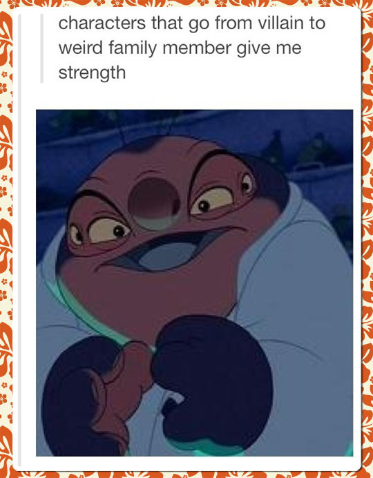 Because You Know Ohana Means Family
