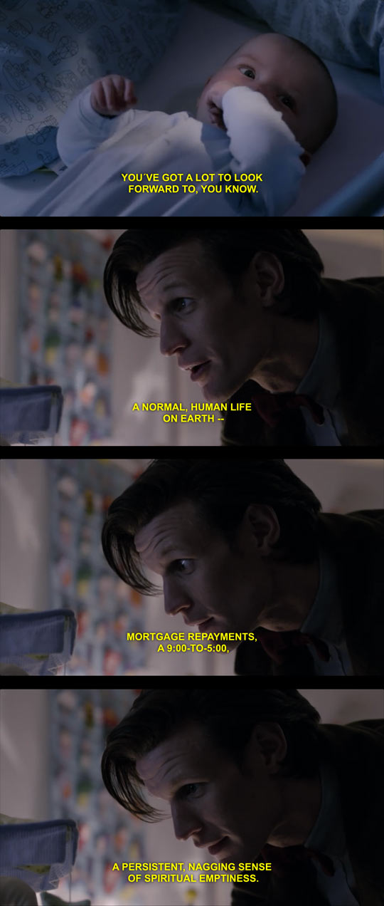 I Think The Doctor Sums It Up Quite Nicely