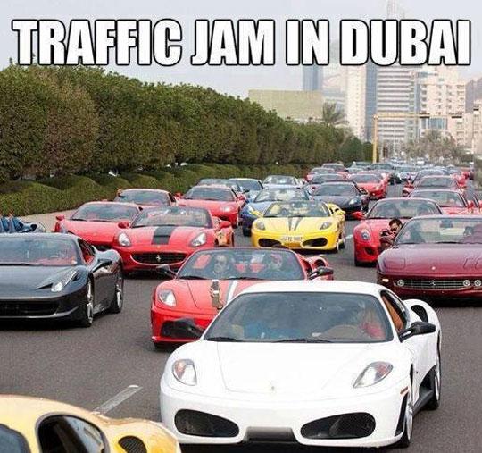 funny-Dubai-street-expensive-cars