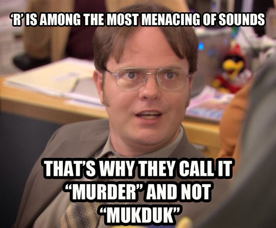 funny-Dwight-Schrute-words-letter