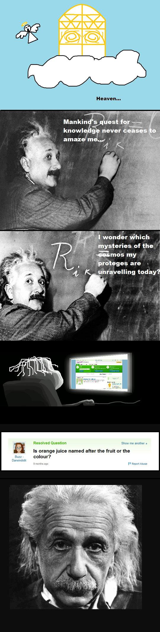 funny-Einstein-Heaven-knowledge-juice