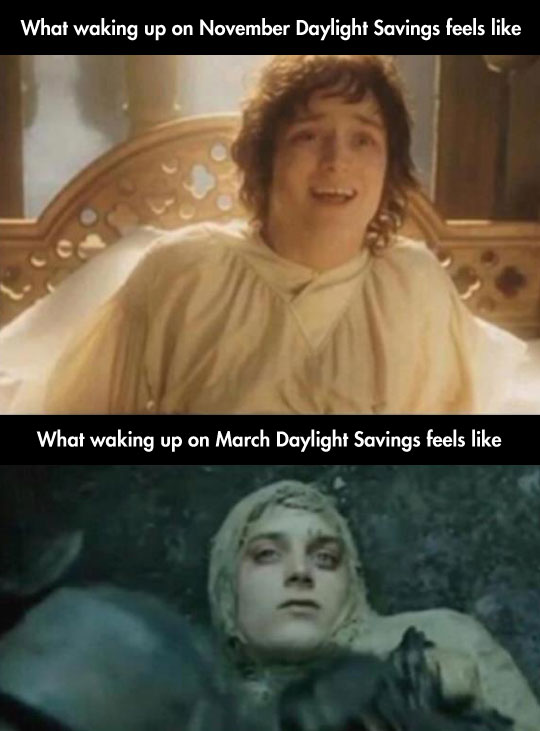 Waking Up On March