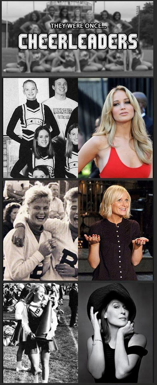 funny-Hollywood-actresses-celebrities-cheerleaders-Amy-Poehler