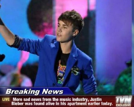 It is a sad day for the music industry…