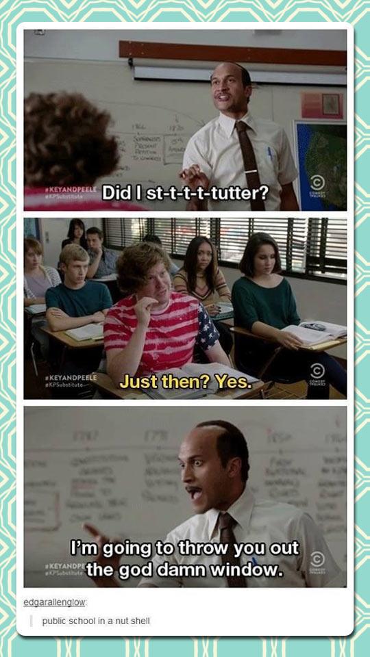 When Correcting a Teacher