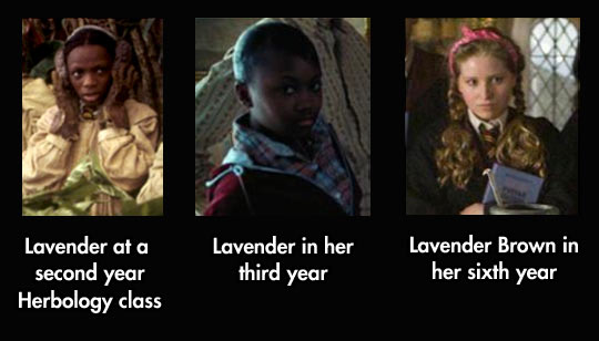 Puberty Must Have Been Very Confusing For Poor Lavender Brown