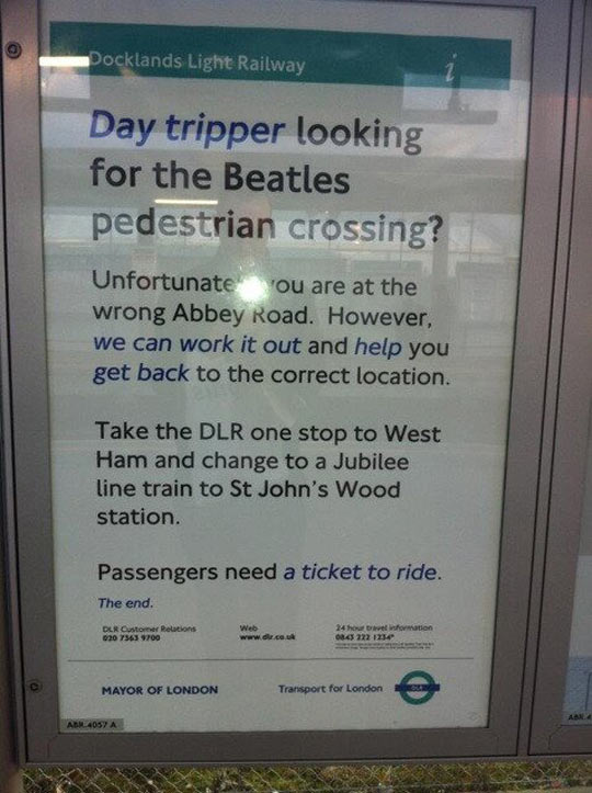 You've Got To Love Transport For London