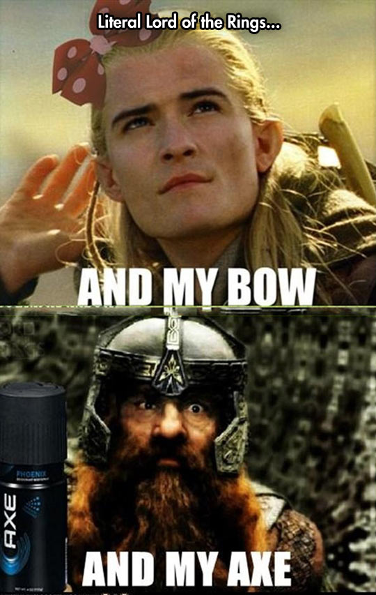 Literal Lord Of The Rings