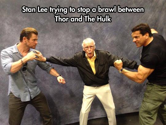 funny-Lou-Ferrigno-Stan-Lee-Chris-Hemsworth-Stan-Lee