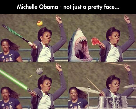 funny-Michelle-Obama-playing-racket