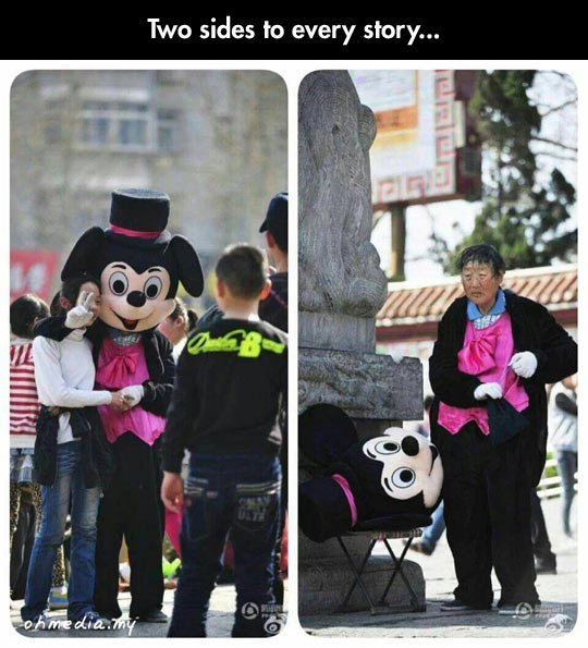 funny-Mickey-costume-old-Asian-woman