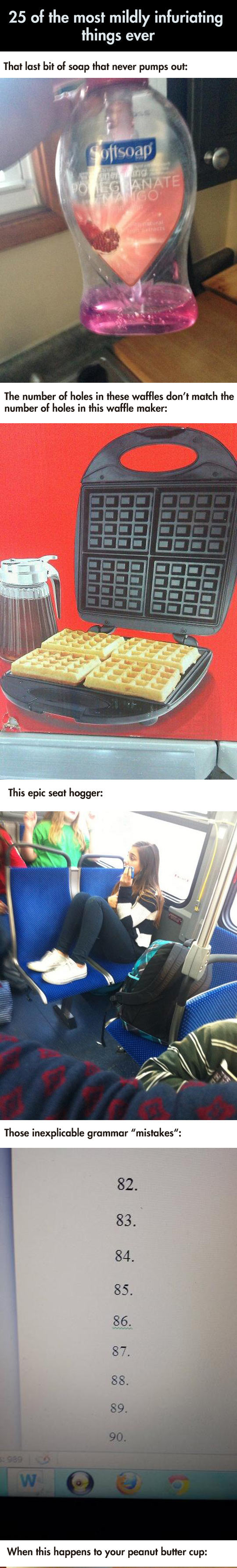 funny-Mildly-Infuriating-things-list-waffle-maker