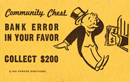 The most unrealistic thing about Monopoly…