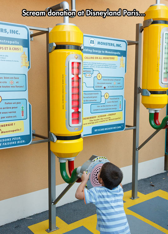 funny-Monster-Inc-scream-donation-Disneyland