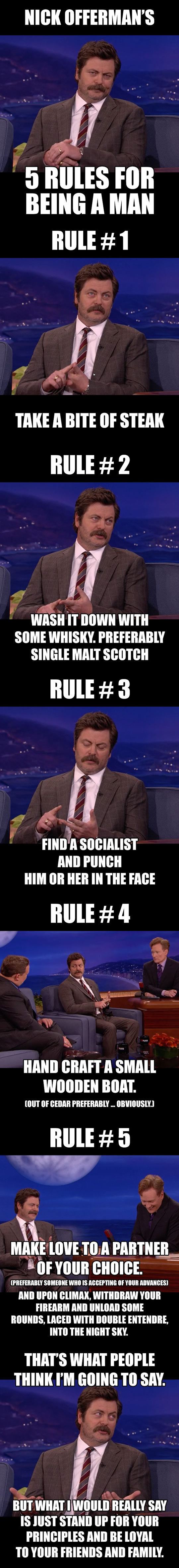funny-Nick-Offerman-rules-being-man