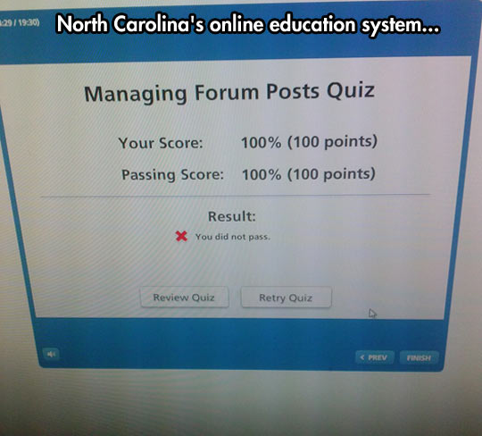 funny-North-Carolina-quiz-error-passing-exam
