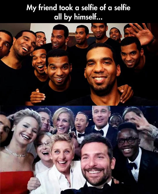 The Oscars' Selfie Is At It Again