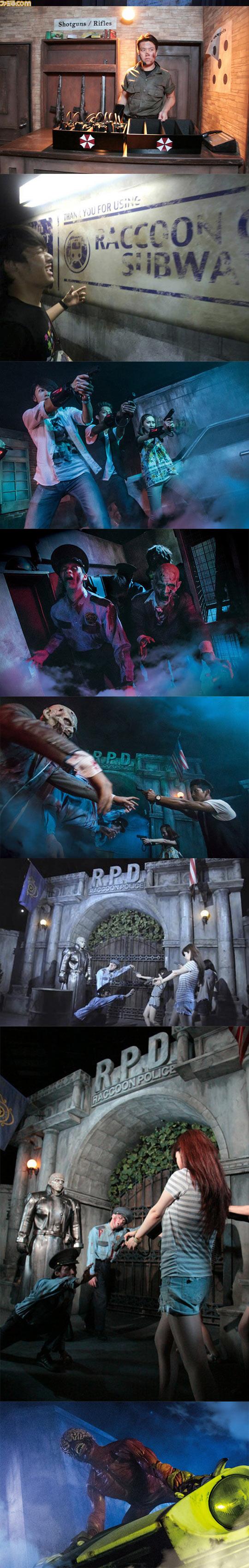 funny-Raccoon-city-Biohazard-themed-park-zombie