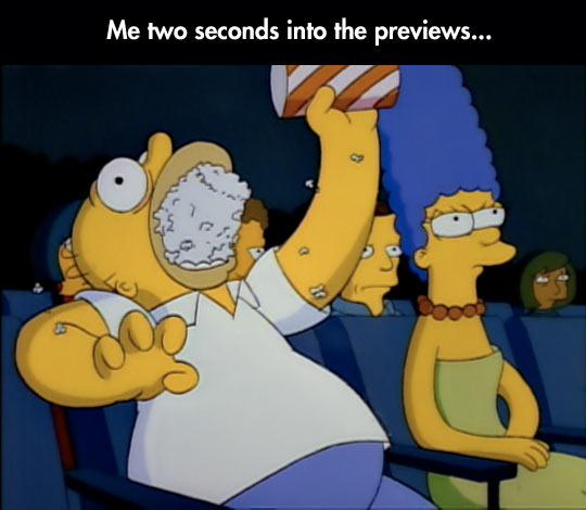 funny-Simpsons-popcorn-beginning-movie