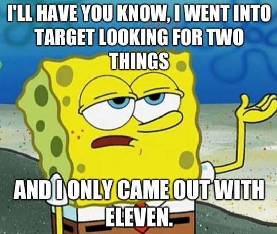 Target is a dangerous place…