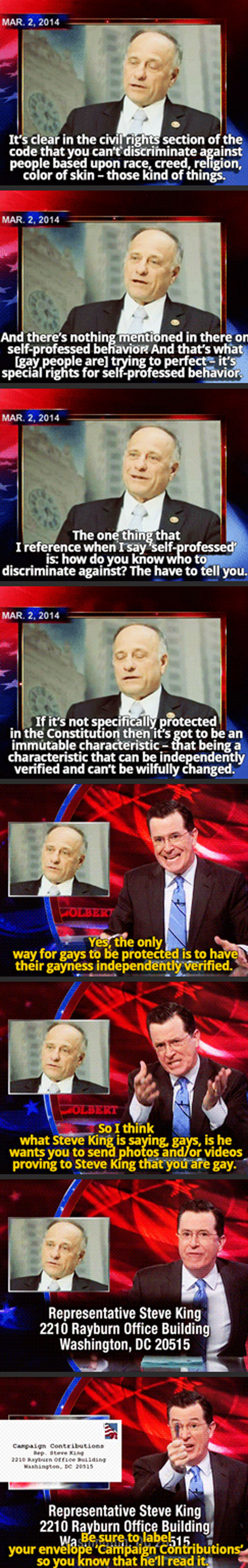 Stephen Colbert Gets It