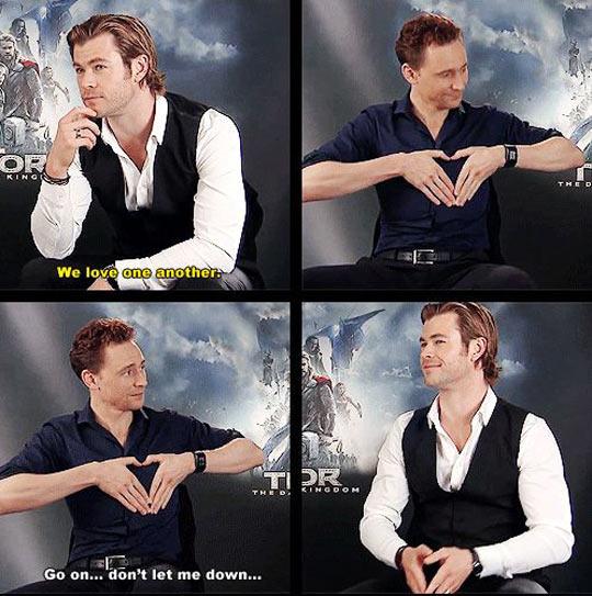 funny-Tom-Hiddleston-Chris-Hemsworth-love