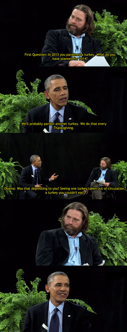 Obama Burns Zach