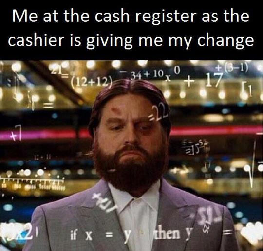 Receiving Change
