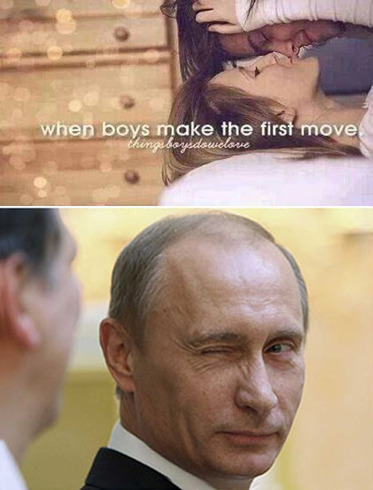 Nothing Like Putin Your Heart Out There