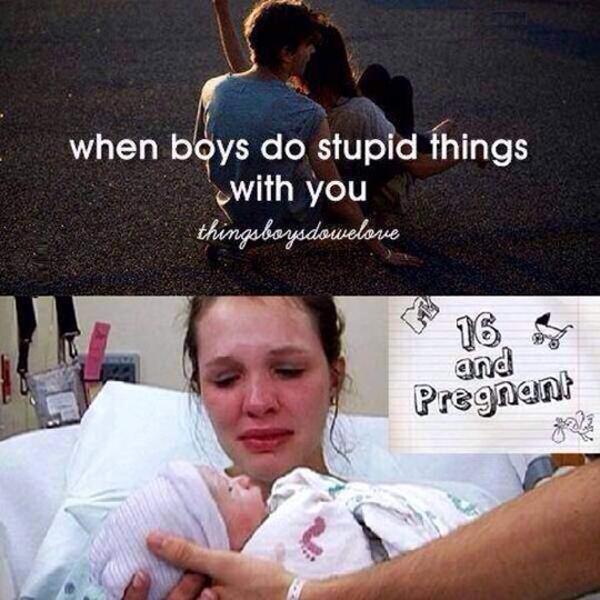 funny-boys-stupid-things-pregnant-girl