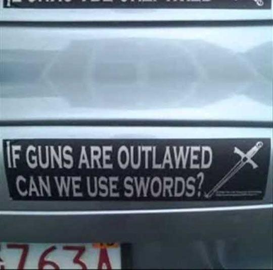 funny-bumper-sticker-car-guns-swords