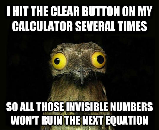 They Call Them Imaginary Numbers For a Reason