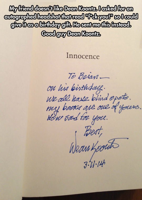 Good Guy Dean Koontz