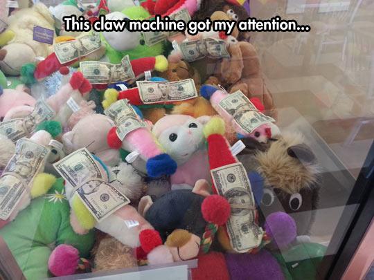Interesting Claw Machine