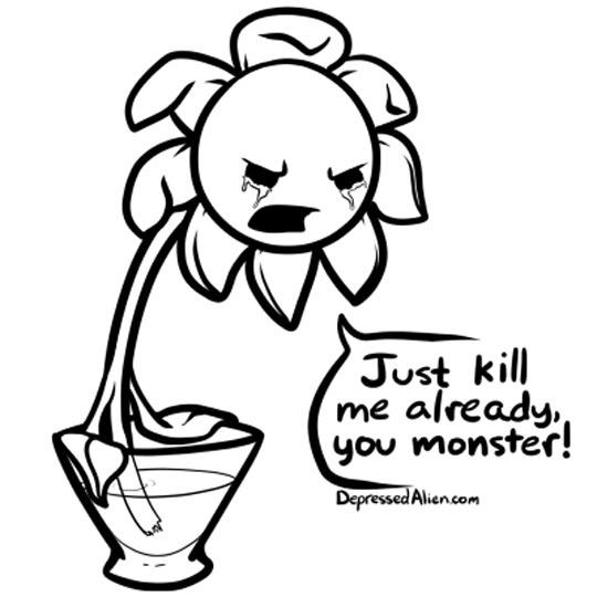 funny-comic-flower-vase-water