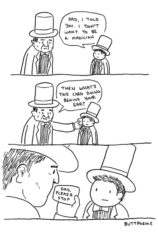 funny-comic-magician-dad-son-hat-card