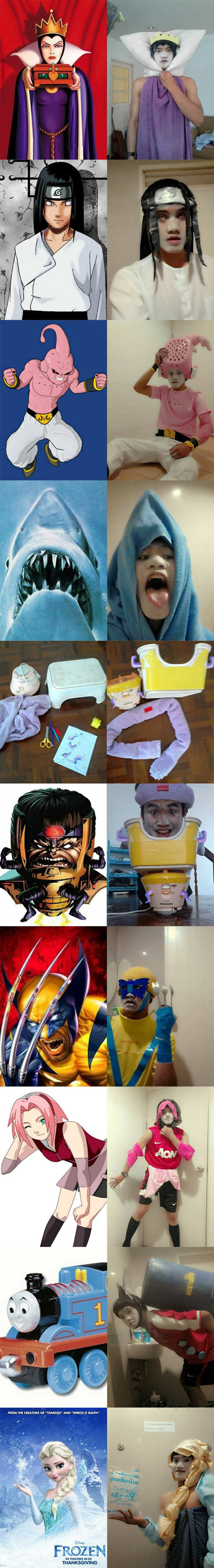 Cosplaying On a Budget