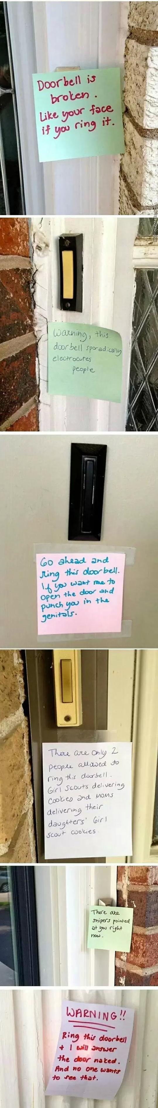 funny-doorbell-notes-threats-prank-warning