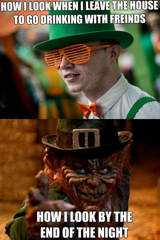 Some People Would Dig That Leprechaun Look