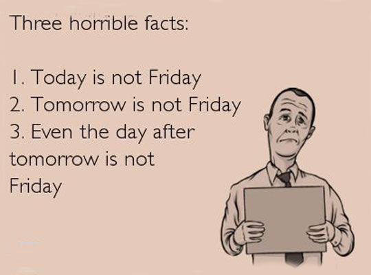 Horrible facts about today…