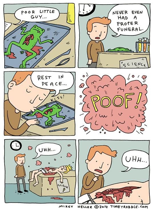Poor little fellow…