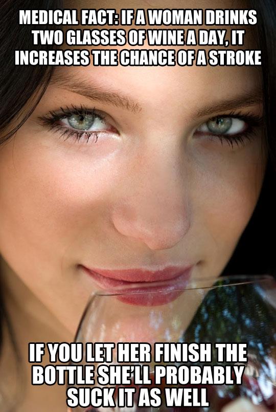 funny-girl-drinking-wine-blonde-park