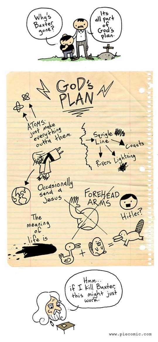 God's plan…
