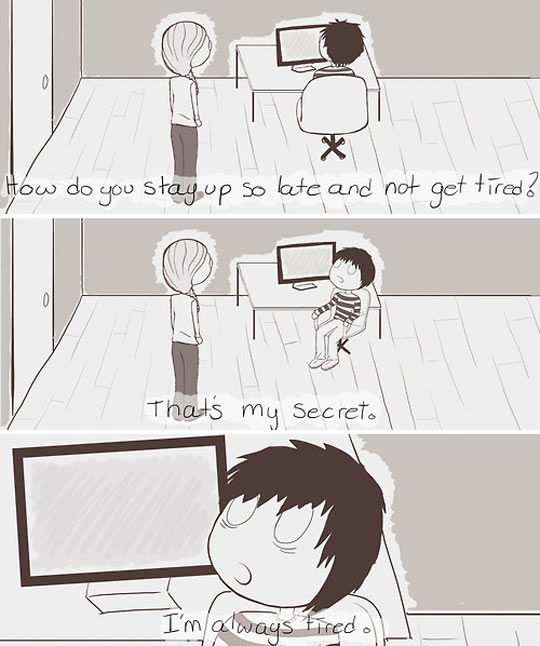 funny-guy-secret-computer-late-tired