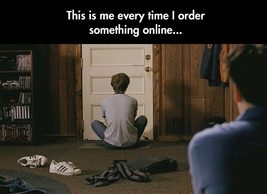 If Only Ramona Flowers Was The Delivery Person Every Time