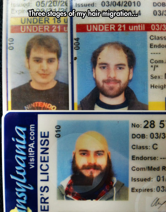 Gradually turning into a lumberjack…