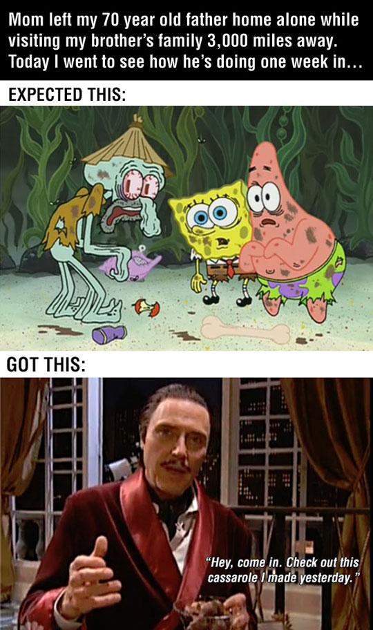 funny-home-alone-father-SpongeBob